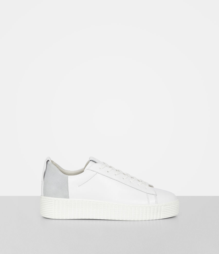 Women's Cherry Trainer (white) - Image 1