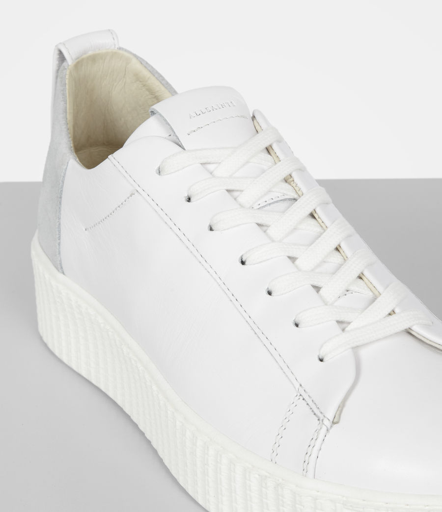 Women's Cherry Trainer (white) - Image 2