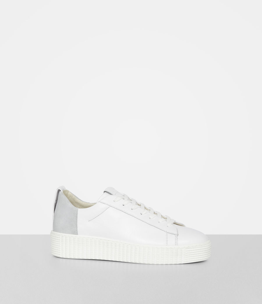 Women's Cherry Trainer (white) - Image 4