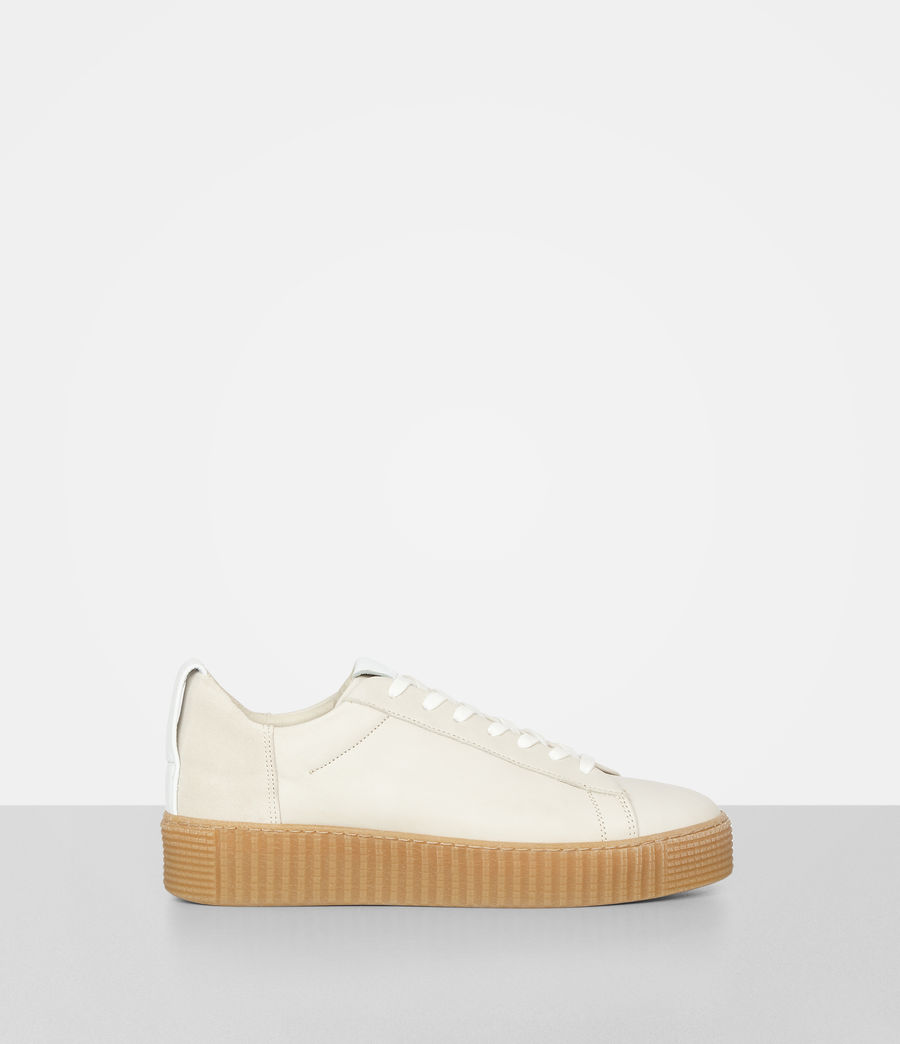 Women's Cherry Trainer (lamb_white) - Image 1