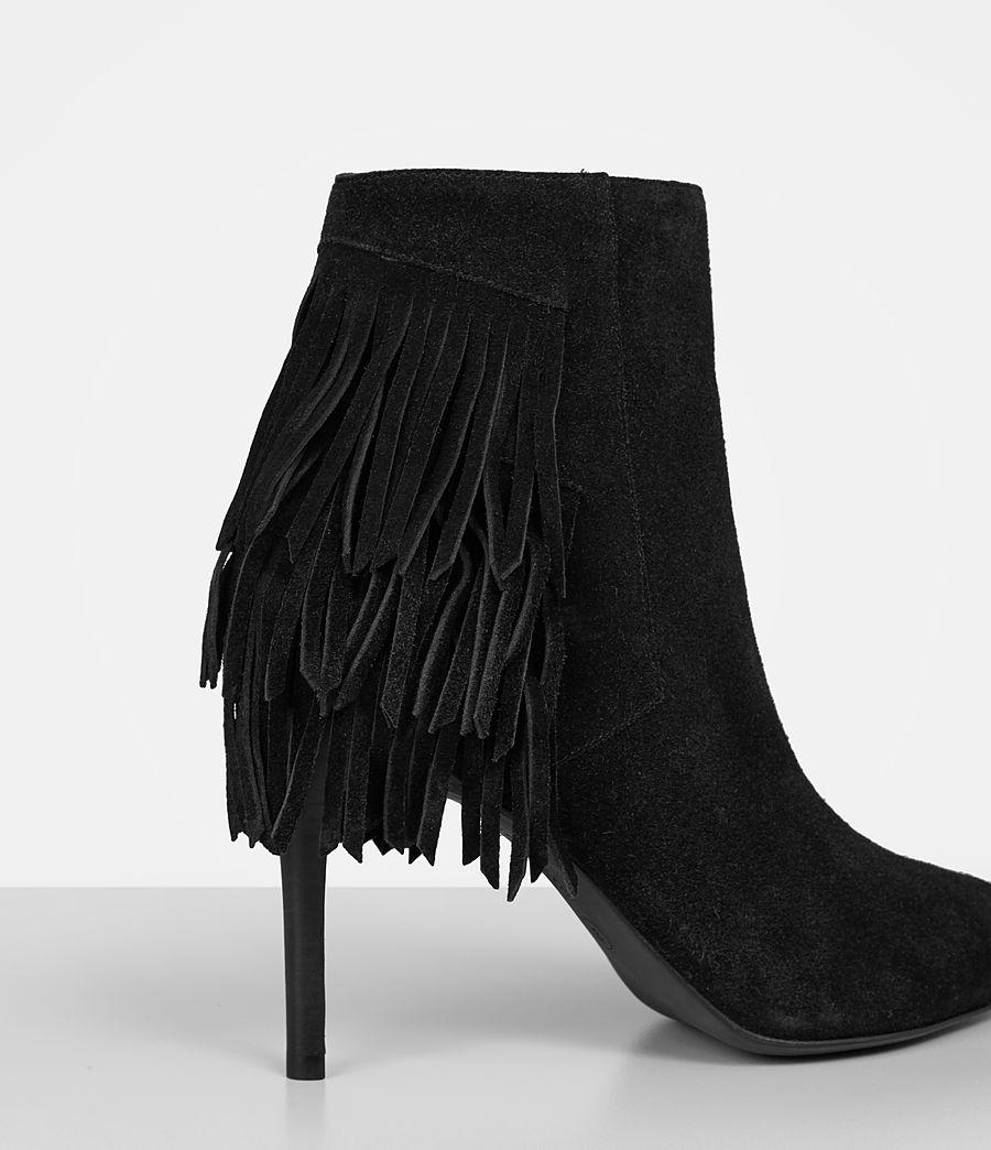 Women's Xandra Suede Boot (black) - Image 2