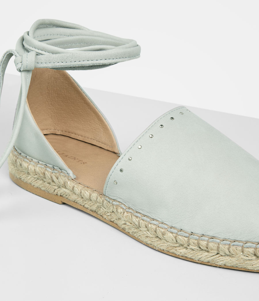 Mujer Straw Espadrille (cement_grey) - Image 2