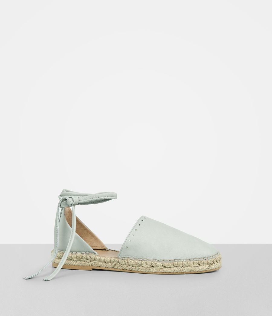 Mujer Straw Espadrille (cement_grey) - Image 3