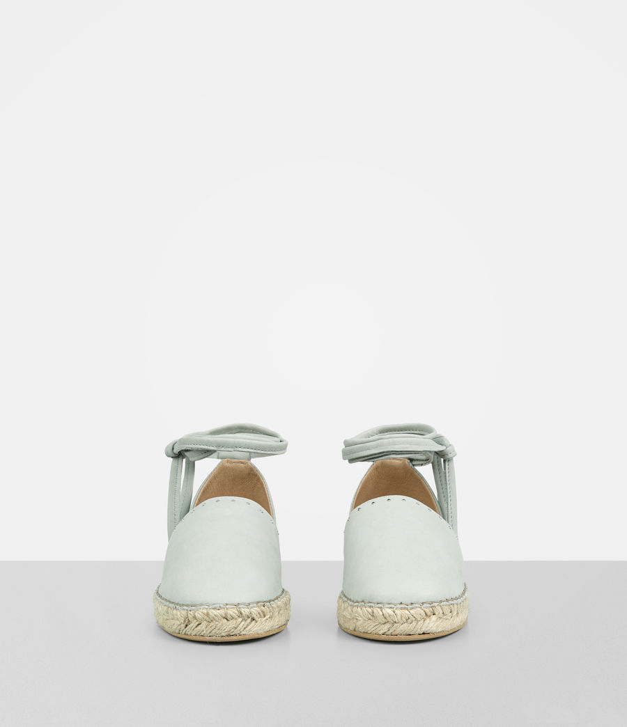 Mujer Straw Espadrille (cement_grey) - Image 4
