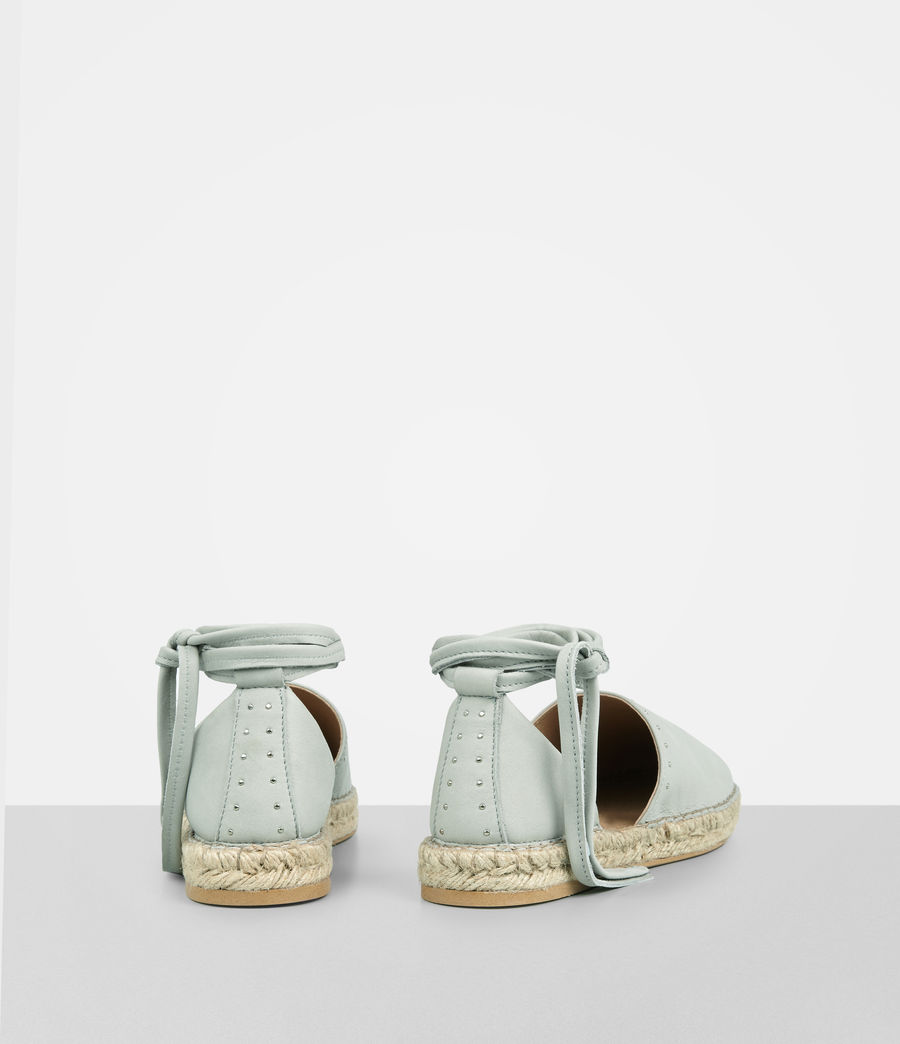 Mujer Straw Espadrille (cement_grey) - Image 5