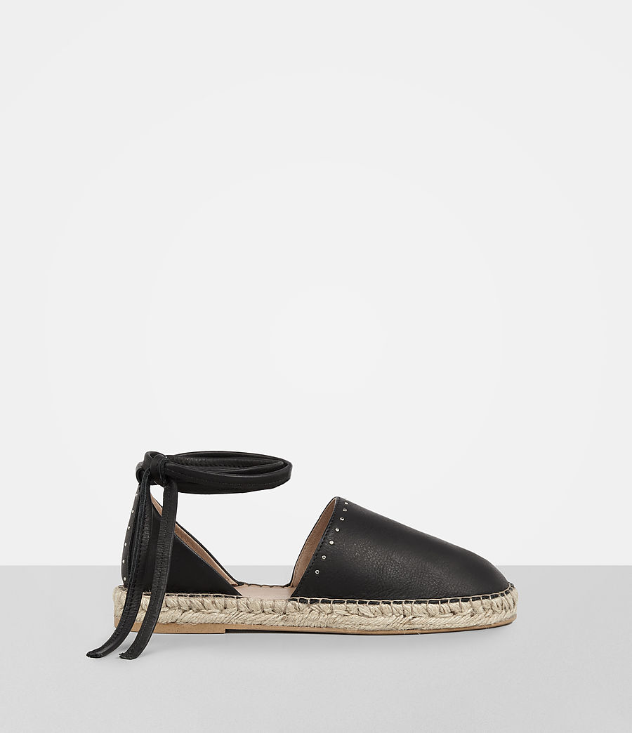 Straw Espadrille by Allsaints