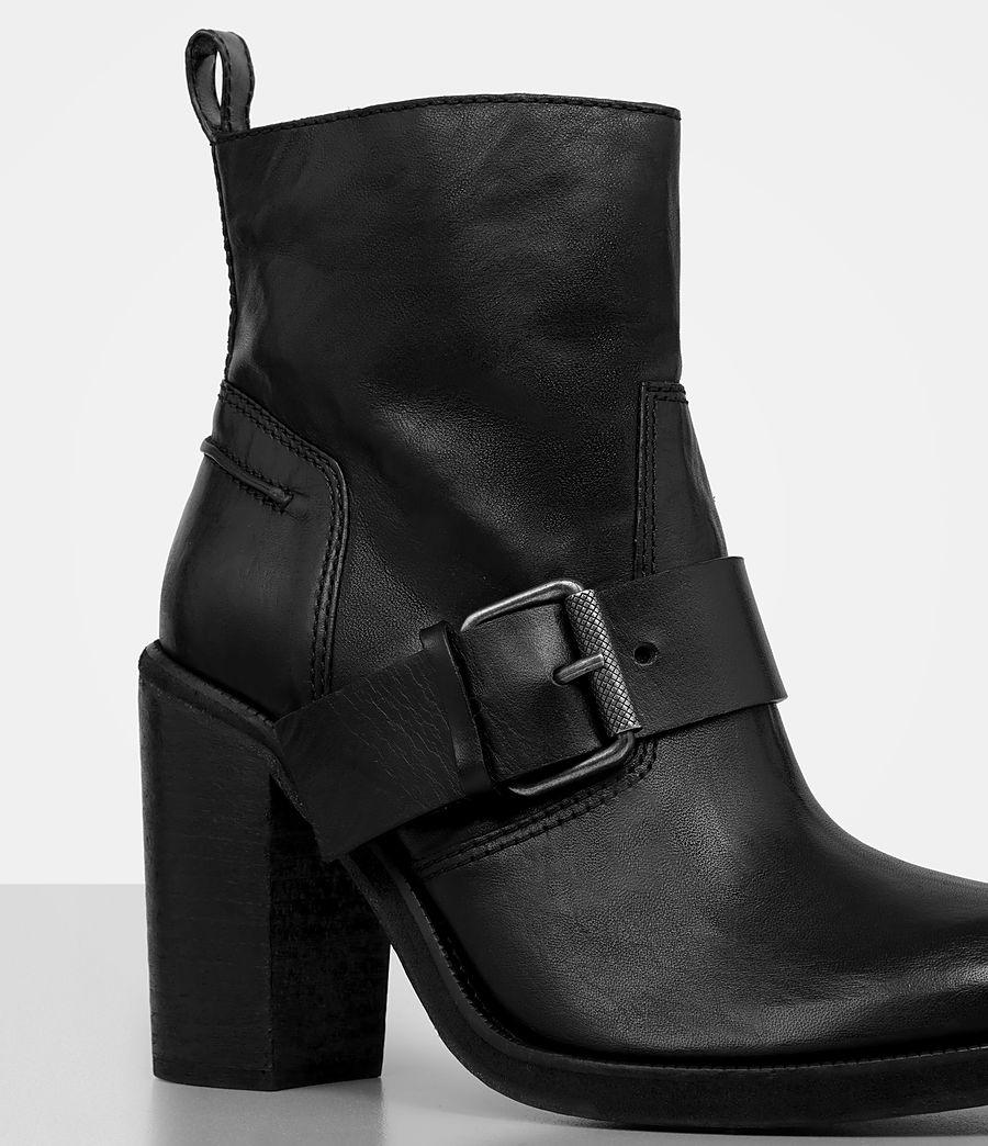 Damen Zadie Heeled Boot (black) - Image 2
