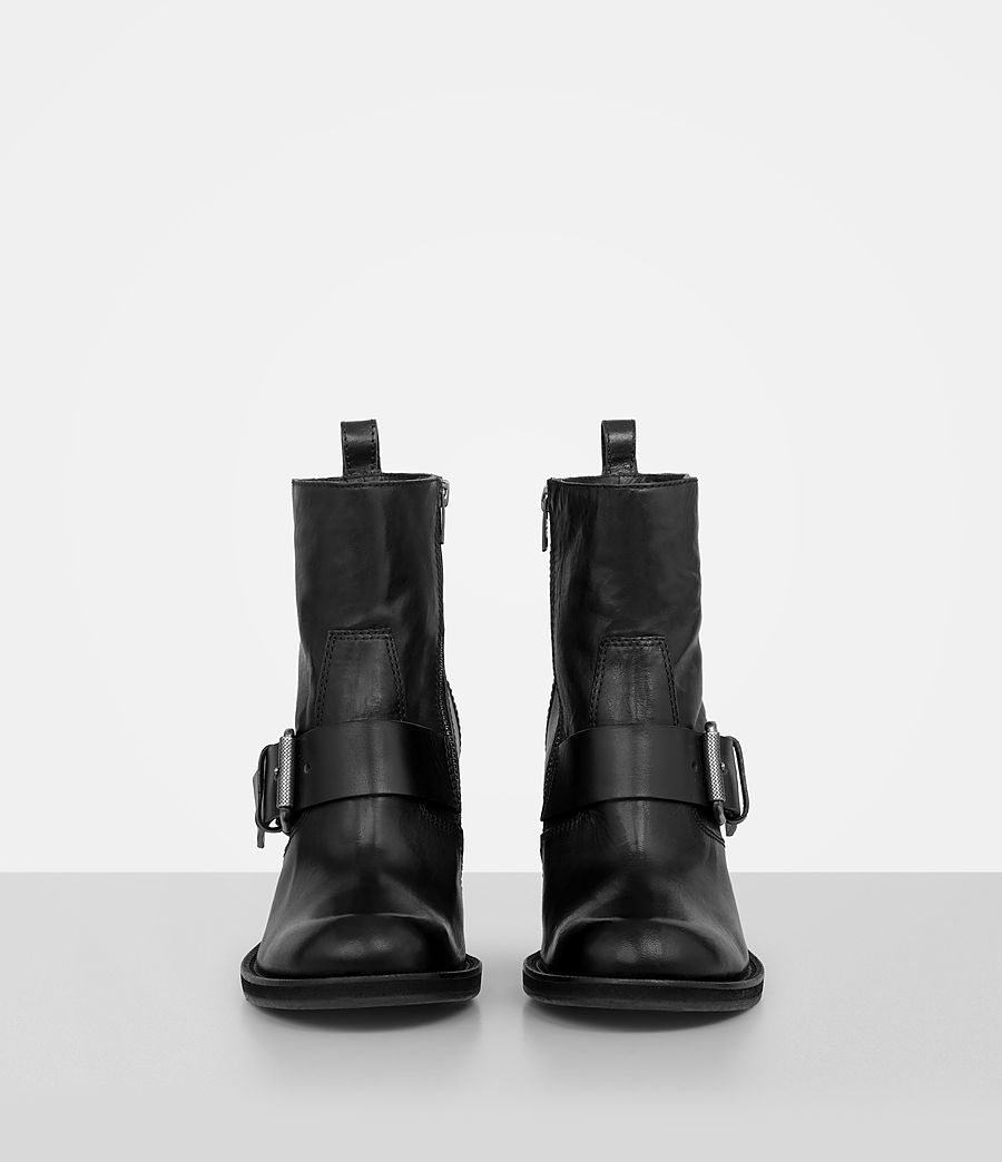 Women's Zadie Heeled Boot (black) - Image 4