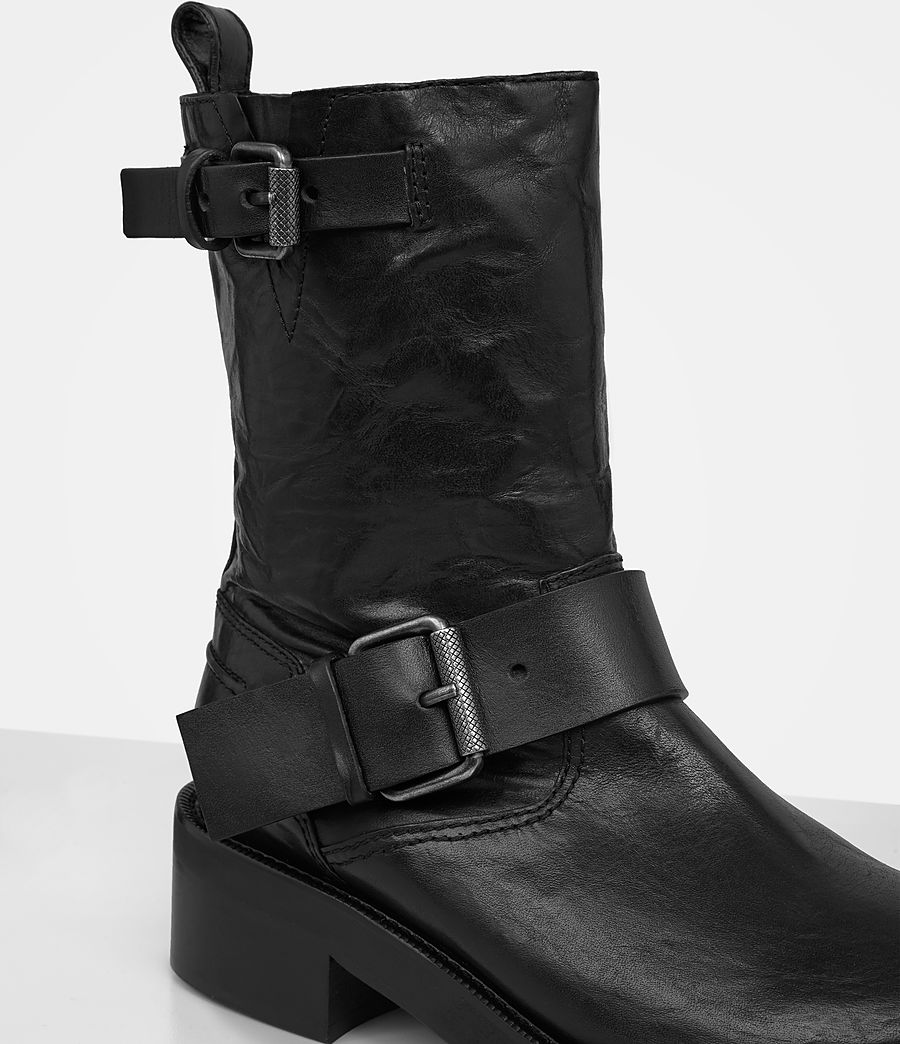 Women's Zadie Biker Boot (black) - Image 2