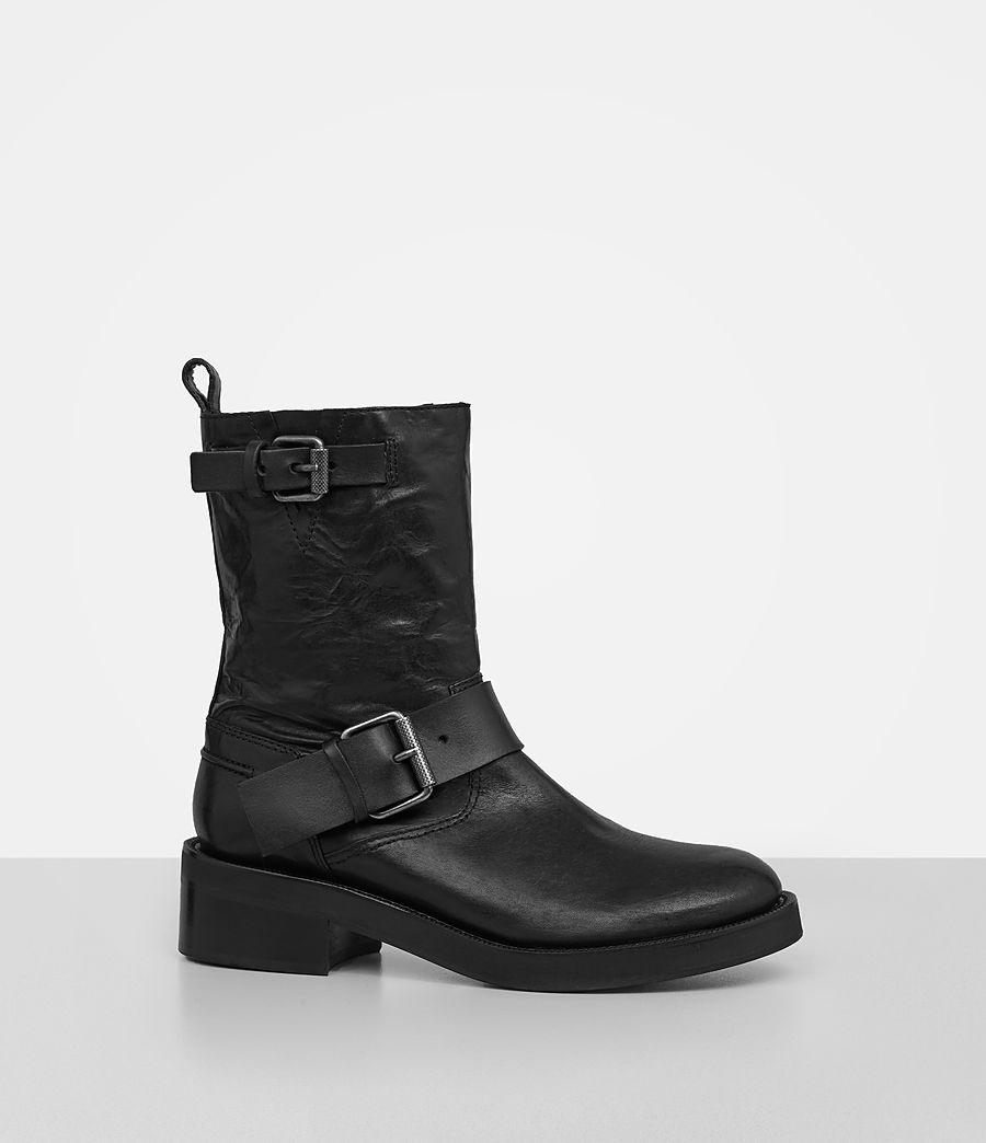 Women's Zadie Biker Boot (black) - Image 3