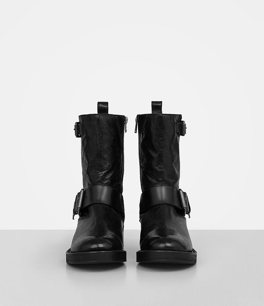 Women's Zadie Biker Boot (black) - Image 4