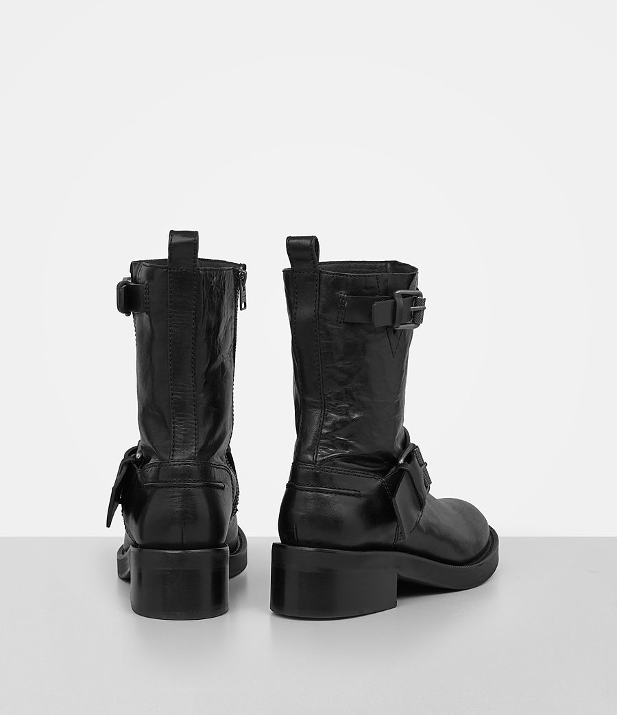 Damen Zadie Biker Stiefel (black) - Image 5