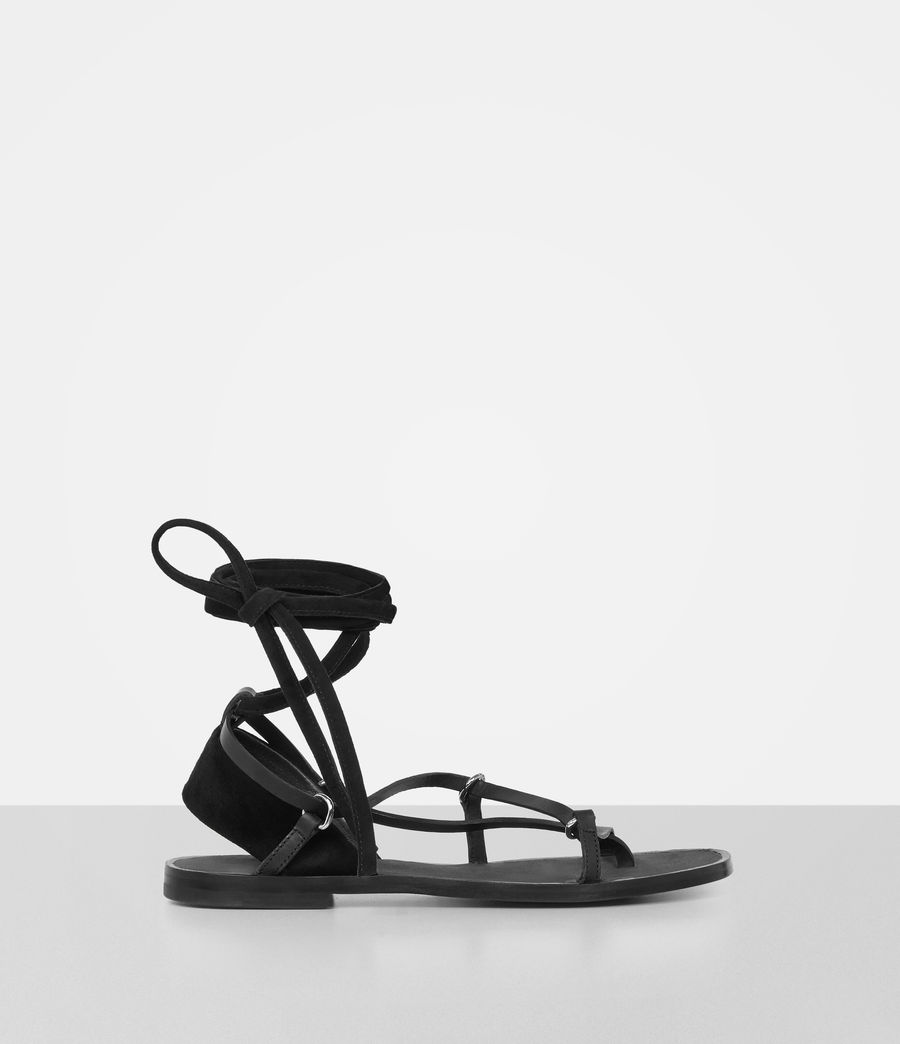 Womens Alba Sandals (black) - Image 1