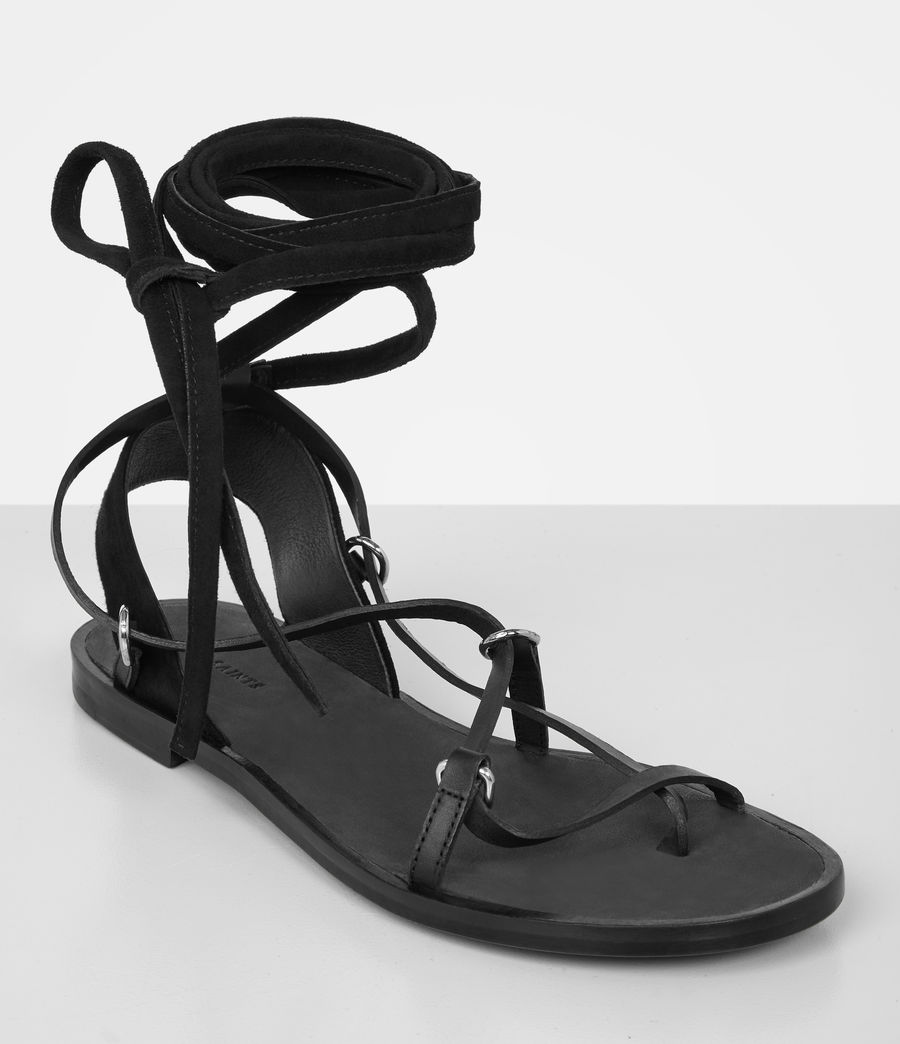 Womens Alba Sandals (black) - Image 2