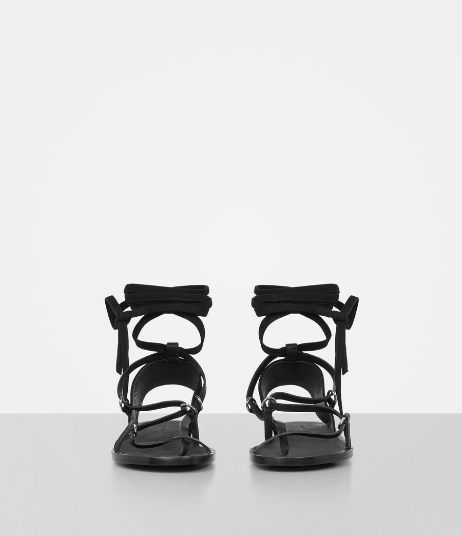 Womens Alba Sandals (black) - Image 5