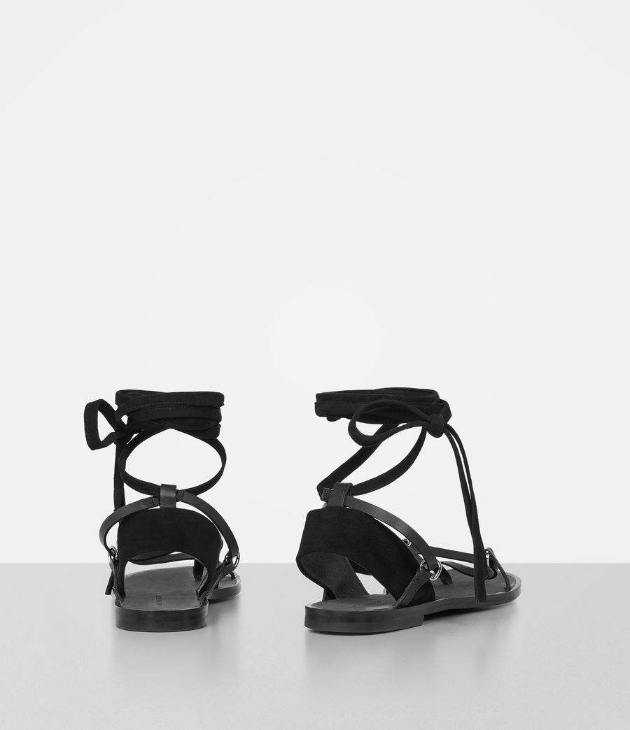 Women's Alba Sandals (black) - Image 6