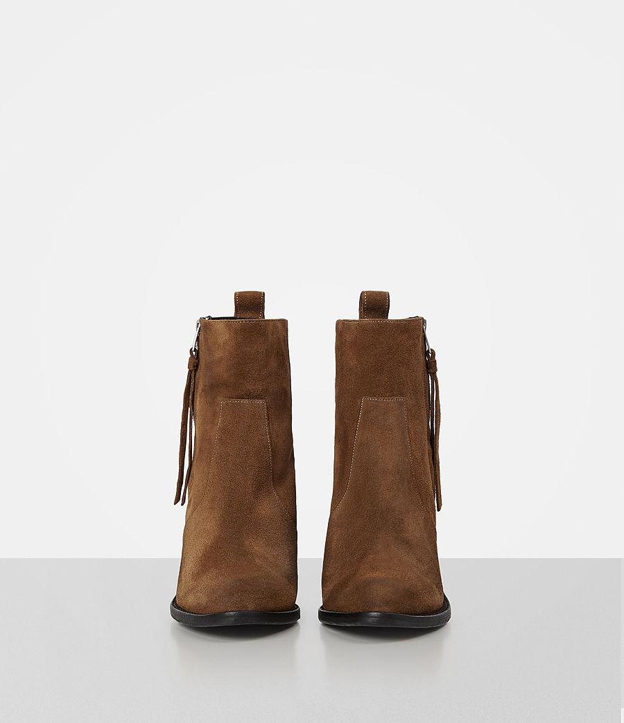 Women's Lorna Suede Boot (tan) - Image 4