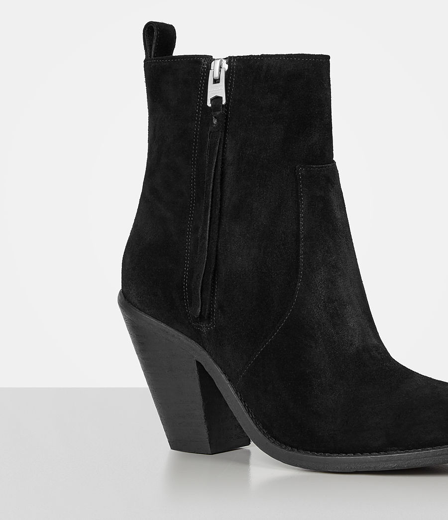 Women's Lorna Suede Boot (black) - Image 2