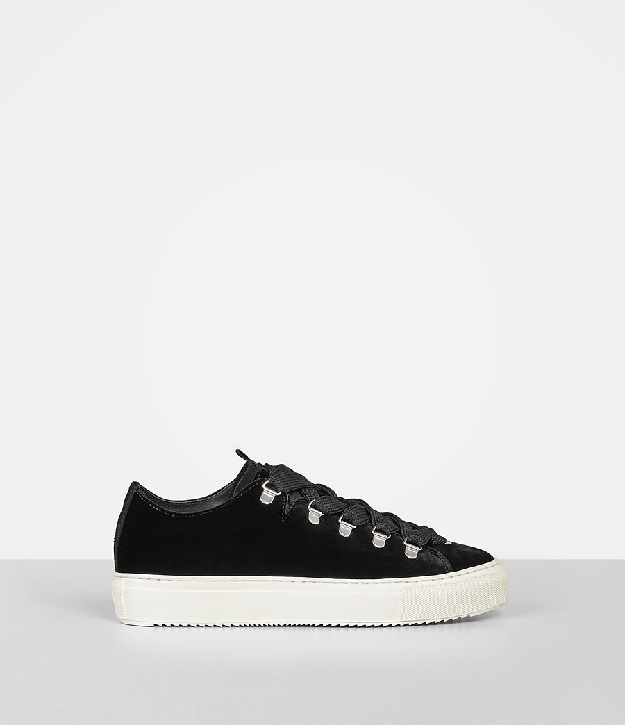 Femmes Sneakers Bailey (black) - Image 1