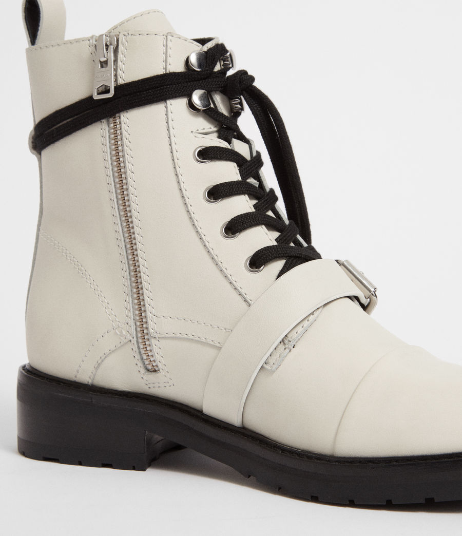 Women's Donita Boot (white) - Image 3