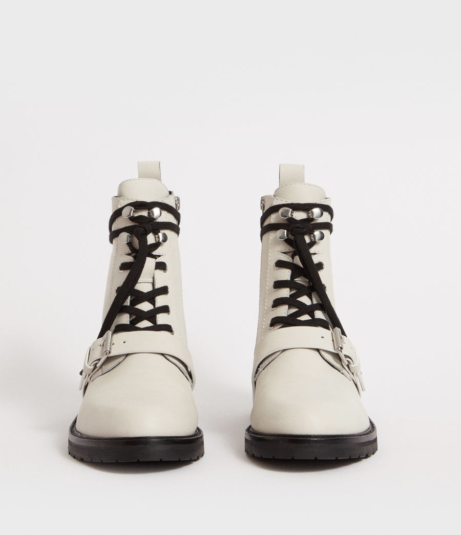 Women's Donita Boot (white) - Image 4