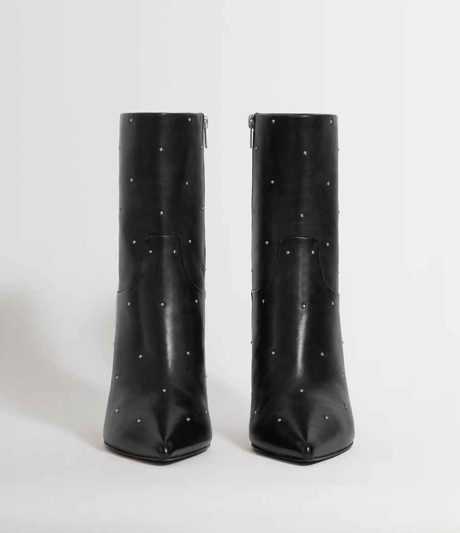 Womens Jenna Stud Boot (black) - Image 4