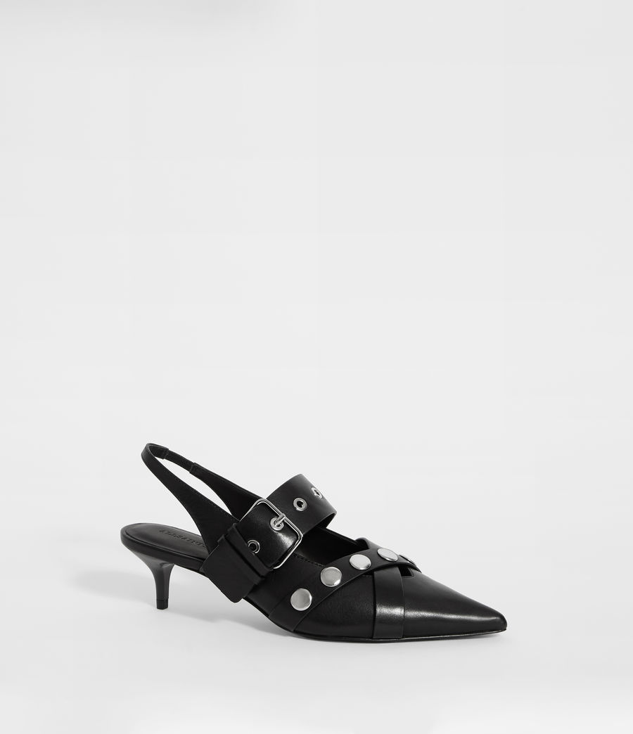 Women's Nina Sling Back Shoe (black) - Image 3