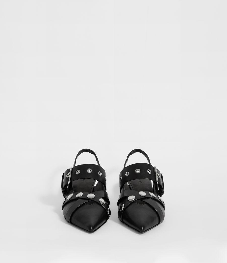 Women's Nina Sling Back Shoe (black) - Image 4