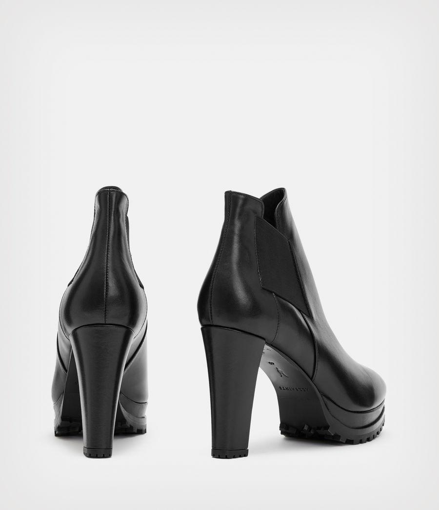 Women's Sarris Leather Boots (black) - Image 6