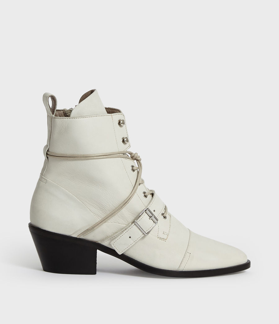 Womens Katy Boot (white) - Image 1