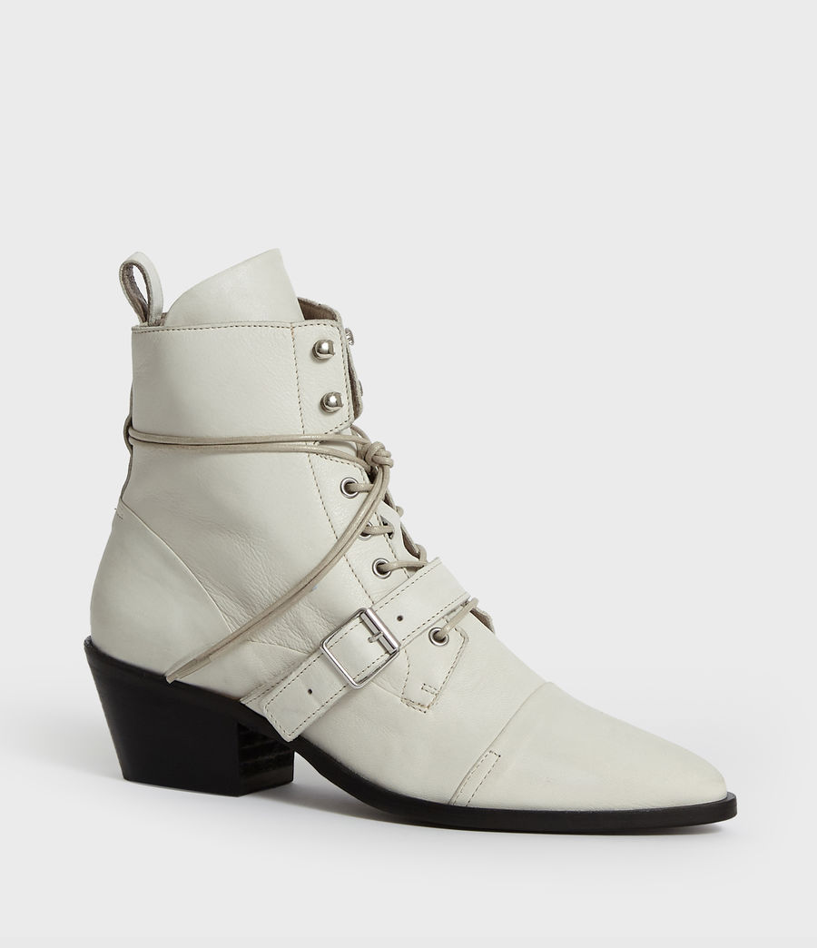 Womens Katy Boot (white) - Image 2