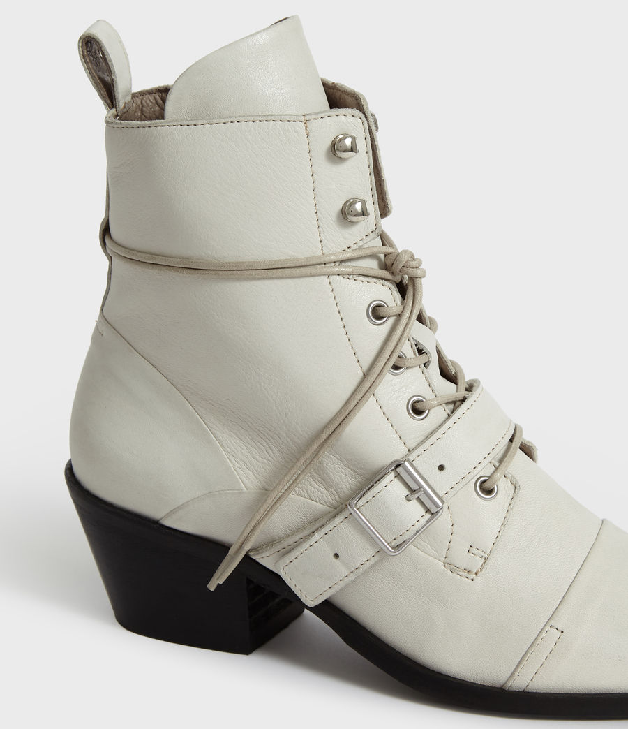 Womens Katy Boot (white) - Image 3
