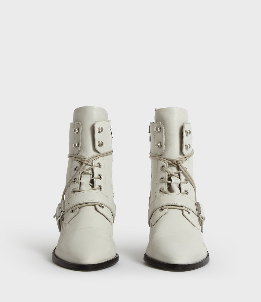 Womens Katy Boot (white) - Image 4