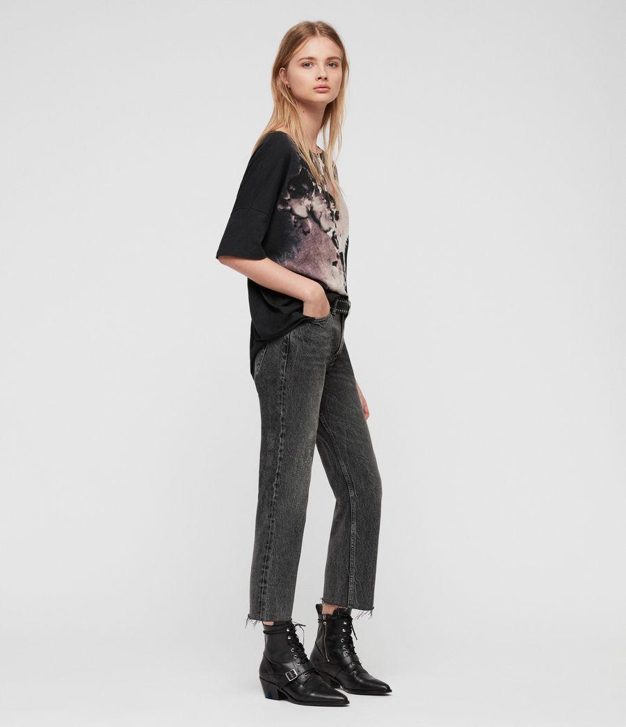 Womens Flora Tru T-Shirt (black) - Image 3