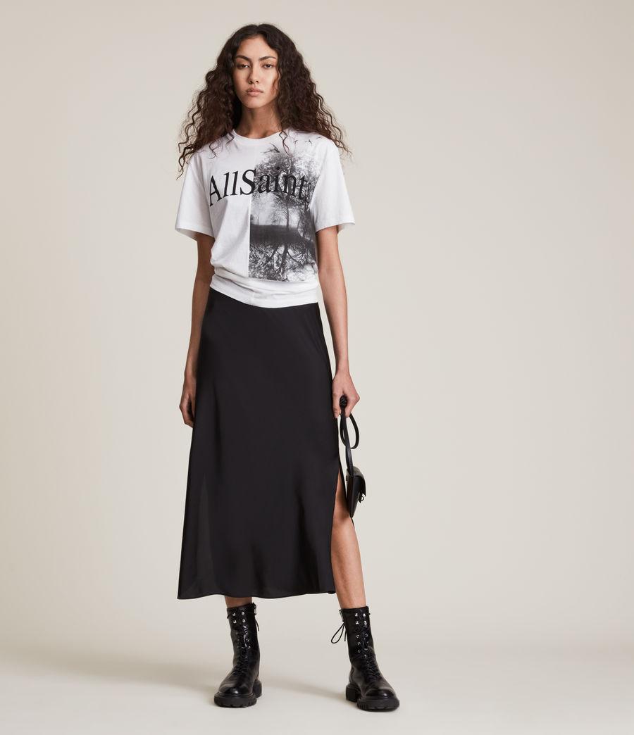 Damen Kielder Boyfriend T-Shirt (optic_white) - Image 2