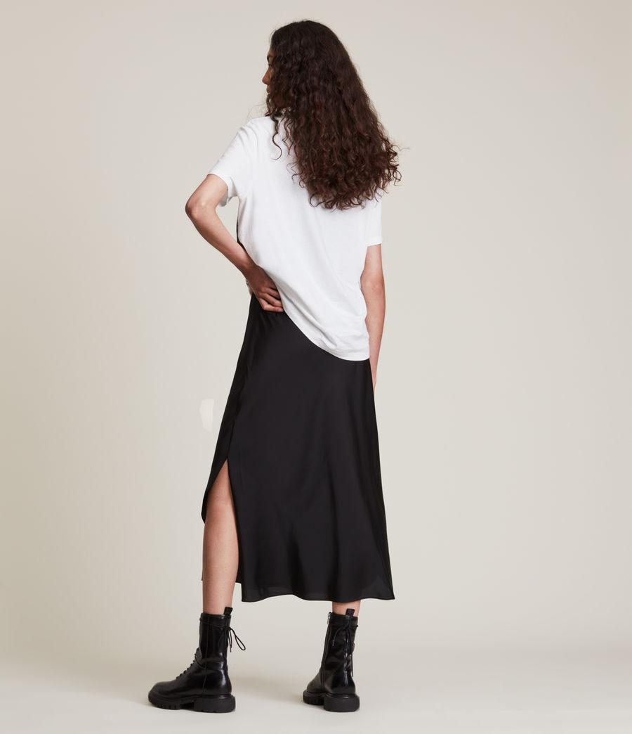 Damen Kielder Boyfriend T-Shirt (optic_white) - Image 4