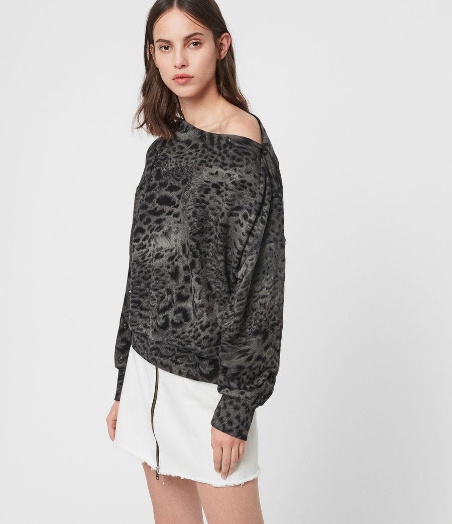 Women's Paw Kaarlo Sweatshirt (black) - Image 3