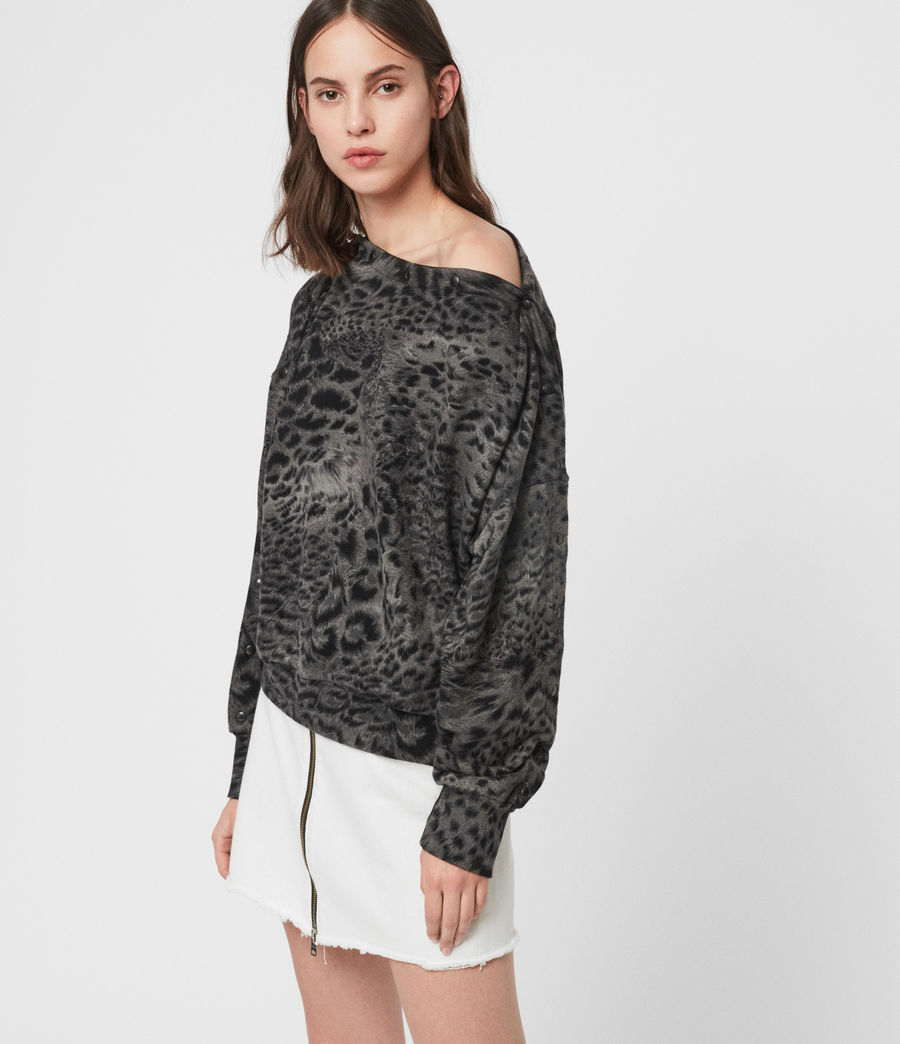Donne Paw Kaarlo Sweatshirt (black) - Image 3