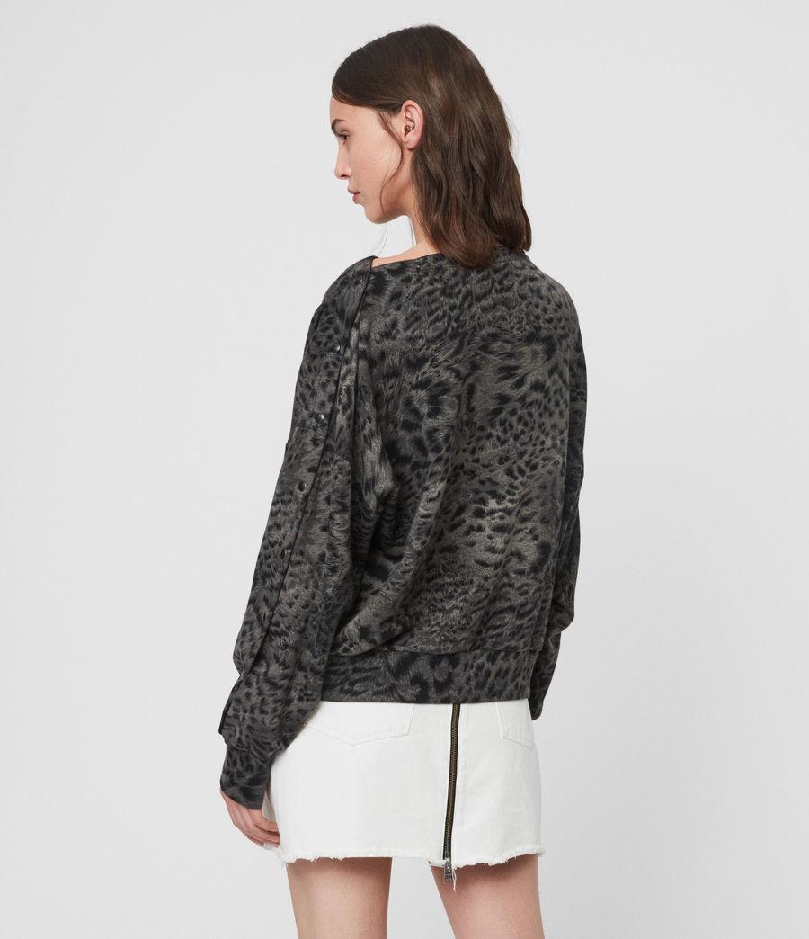 Damen Paw Kaarlo Sweatshirt (black) - Image 4