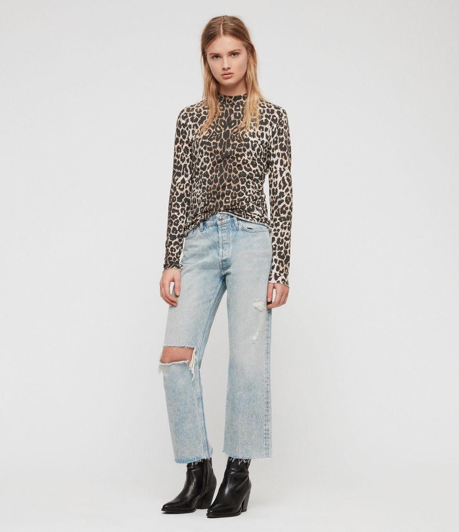 Womens Leap Kiara T-Shirt (leopard) - Image 1