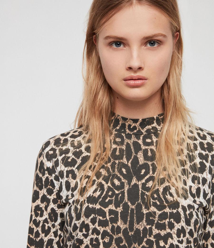 Womens Leap Kiara T-Shirt (leopard) - Image 3