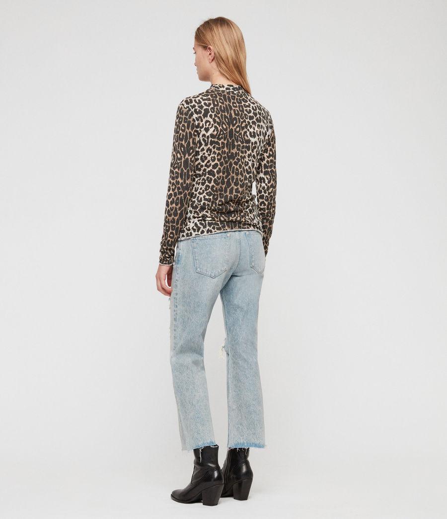 Womens Leap Kiara T-Shirt (leopard) - Image 4