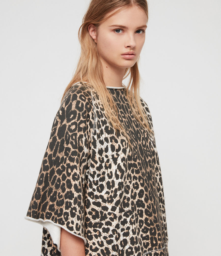 Mujer Sudadera Leap Mila (leopard) - Image 2