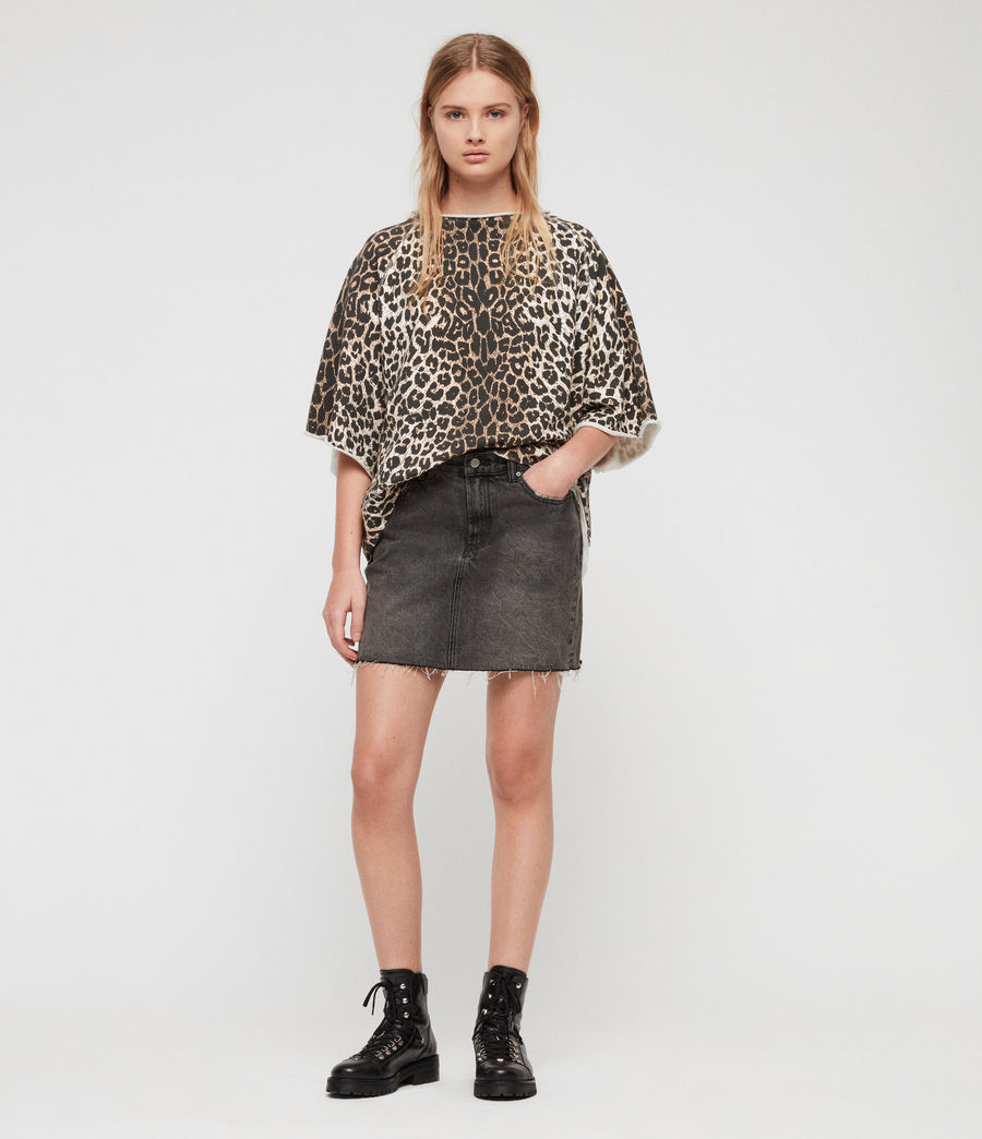 Mujer Sudadera Leap Mila (leopard) - Image 3