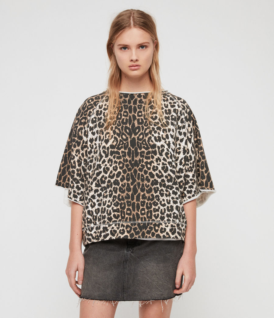 Mujer Sudadera Leap Mila (leopard) - Image 4