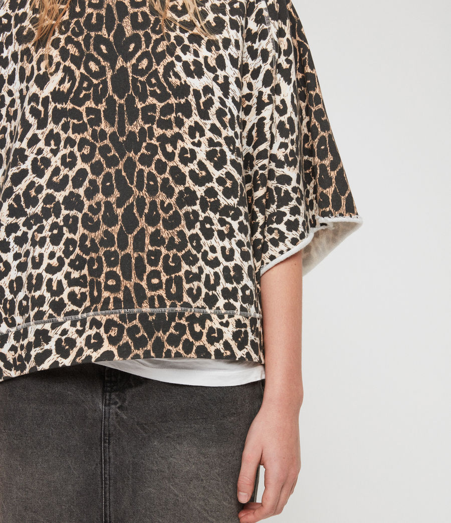 Mujer Sudadera Leap Mila (leopard) - Image 5