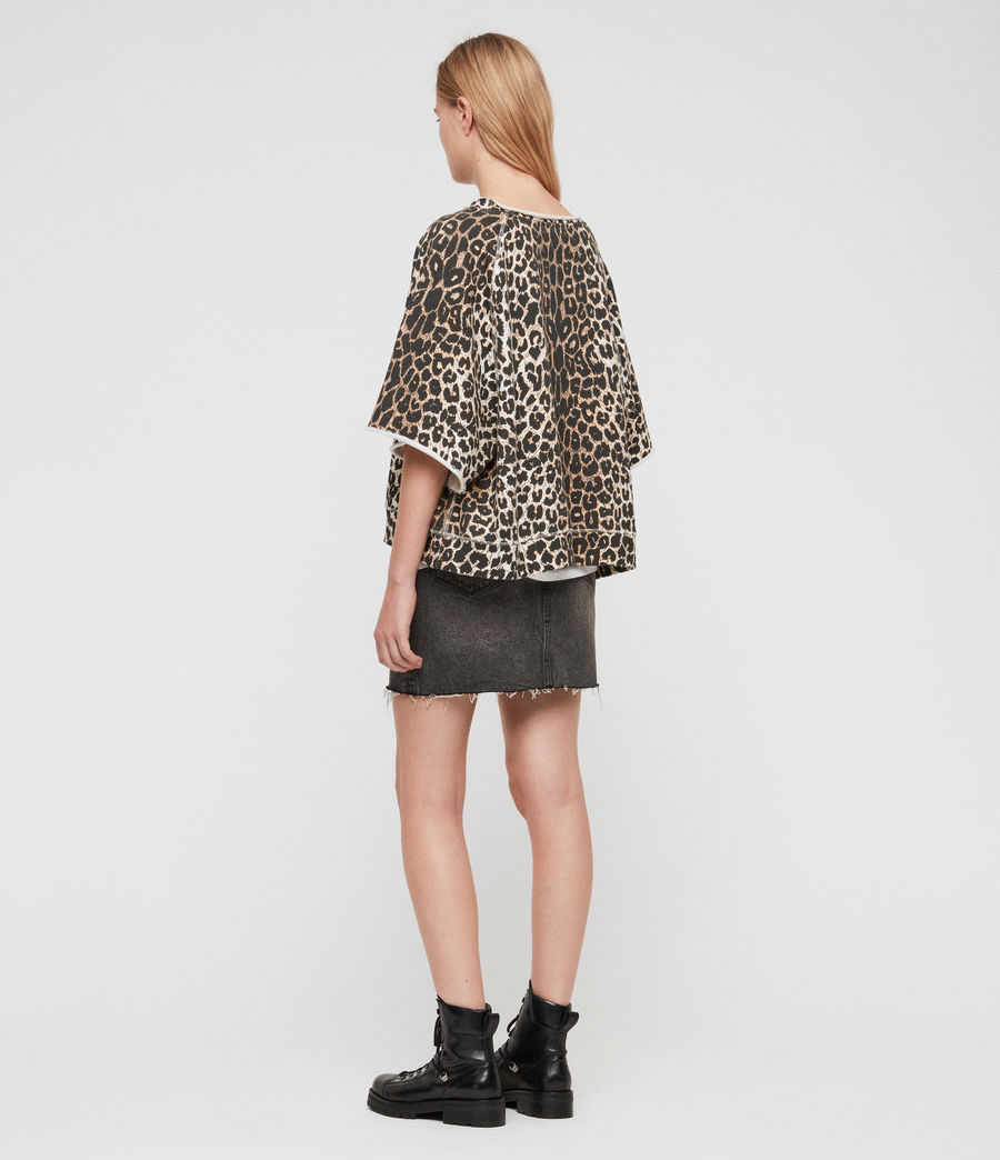 Mujer Sudadera Leap Mila (leopard) - Image 6