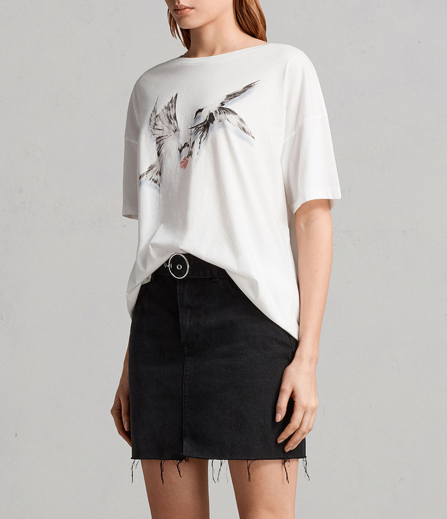 Women's Lovers Cori T-Shirt (chalk_white) - Image 3