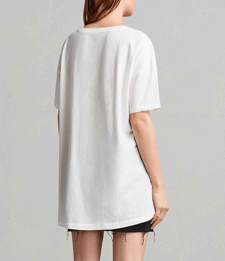 Women's Lovers Cori T-Shirt (chalk_white) - Image 4