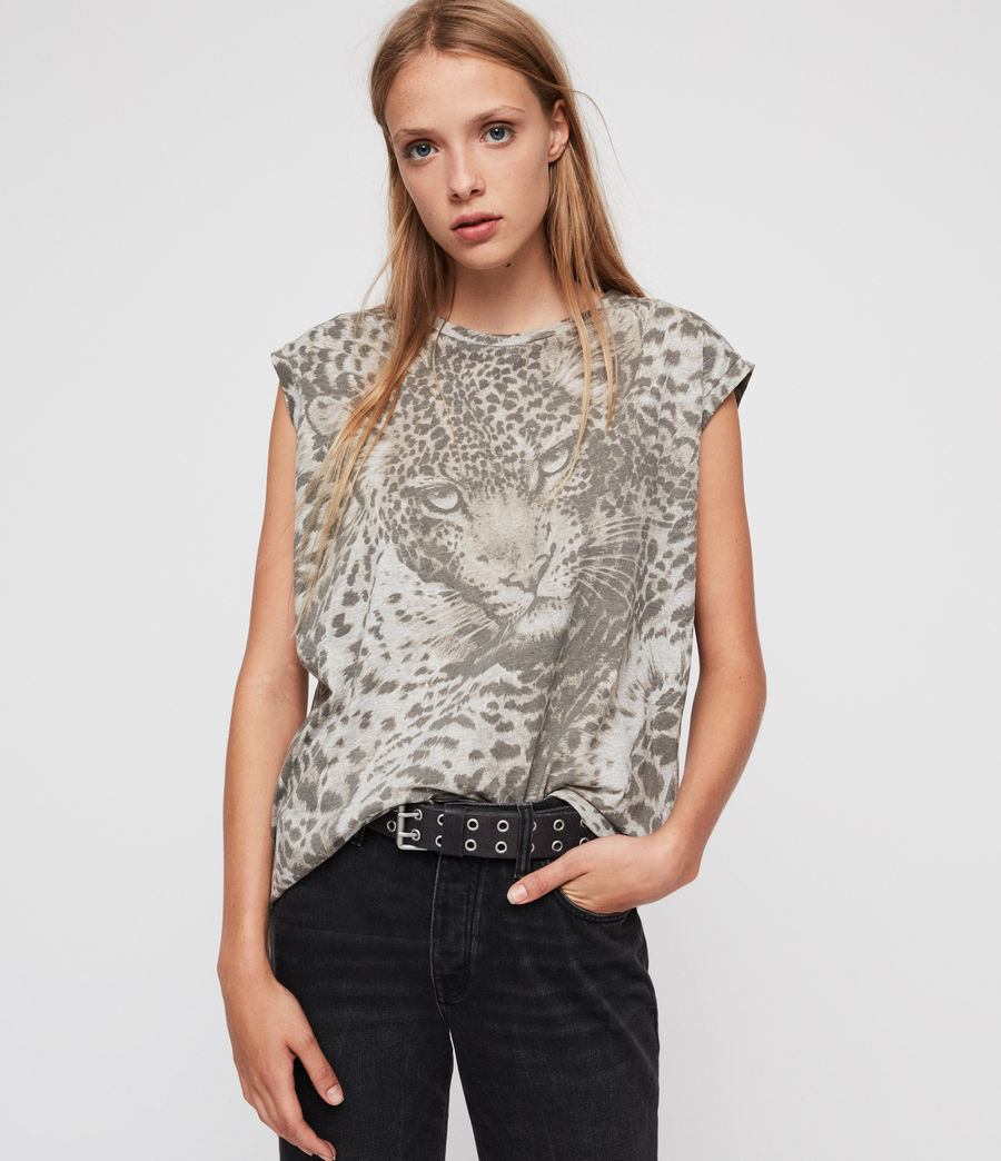 Donne T-shirt Pardos Brooke (light_grey_marl) - Image 1